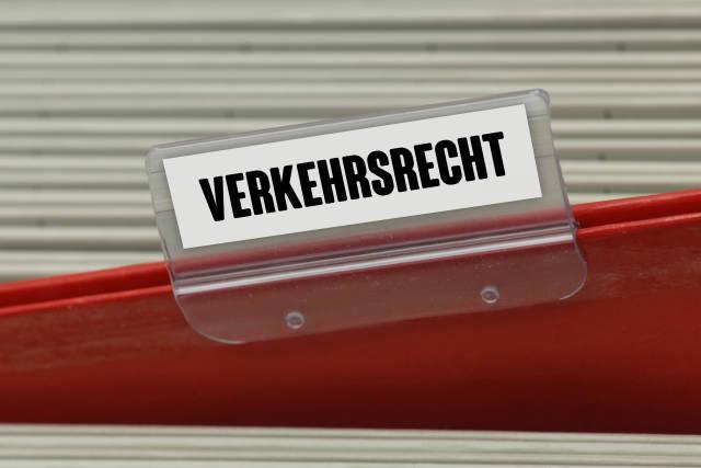 Hängeregister VERKEHRSRECHT