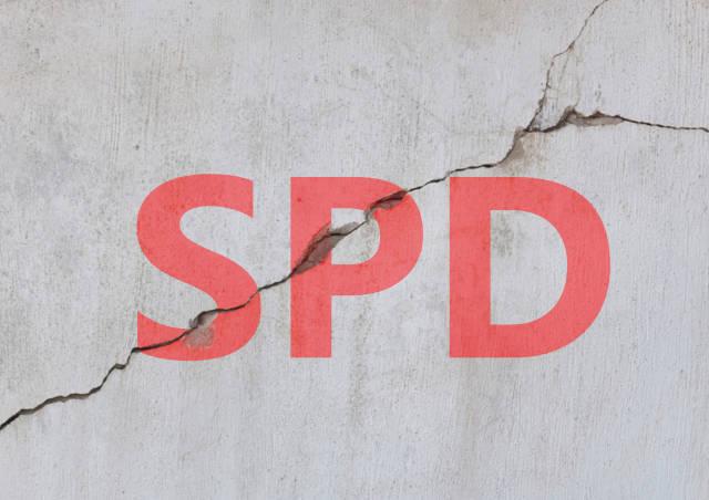 Riss durch die SPD