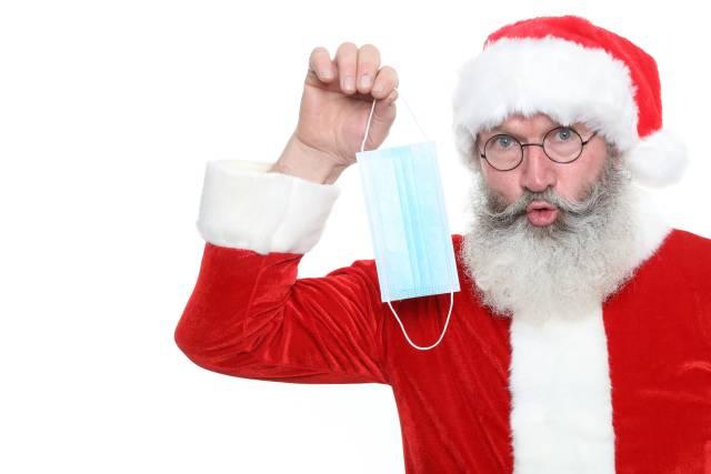 Mundschutz zu Weihnachten