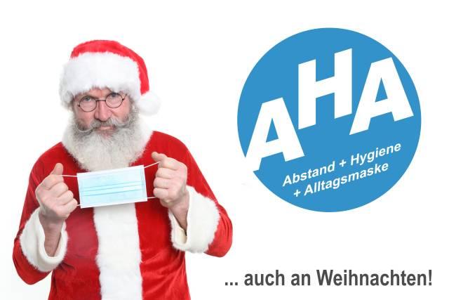 Hygiene-Regeln auch zu Weihnachten