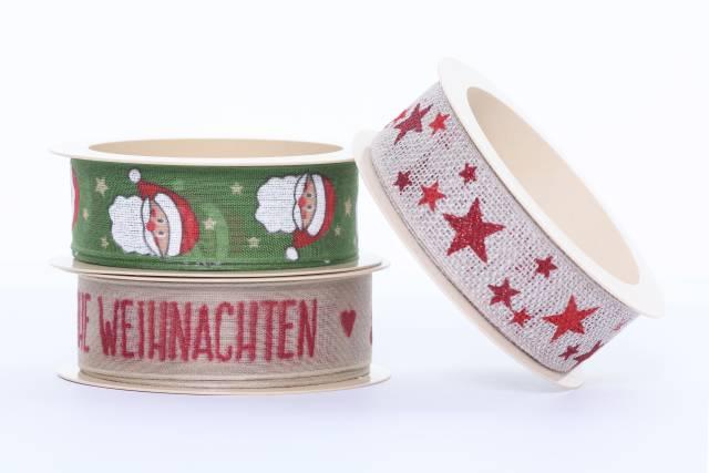 Geschenkband für Weihnachten