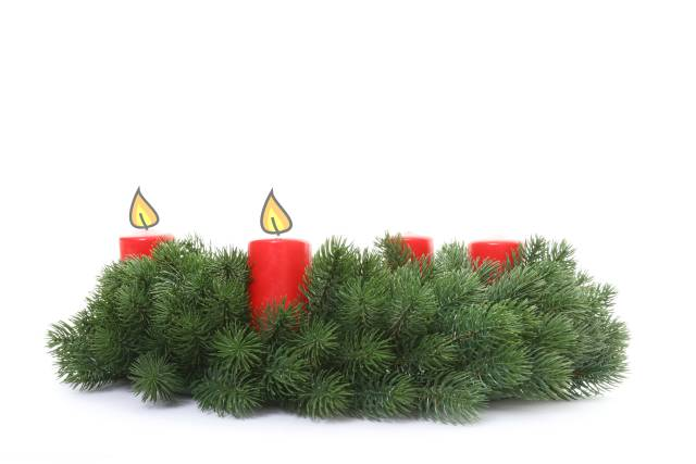 Adventkranz - 2. Advent