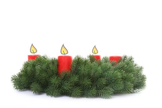 Adventkranz - 3. Advent