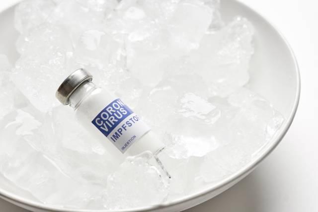 Impfstoff auf Eis