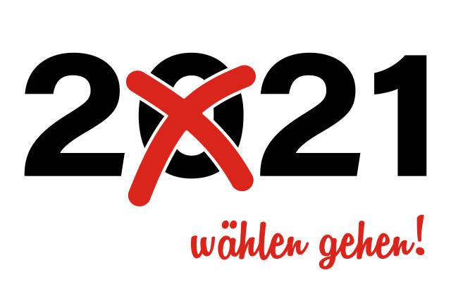 Wahl 2021 - wählen gehen