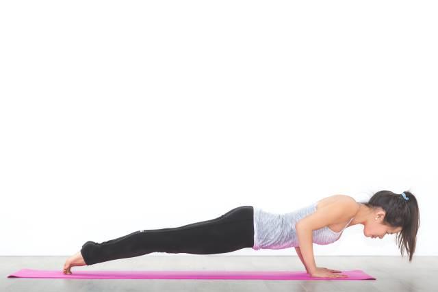 Yoga - Low Plank