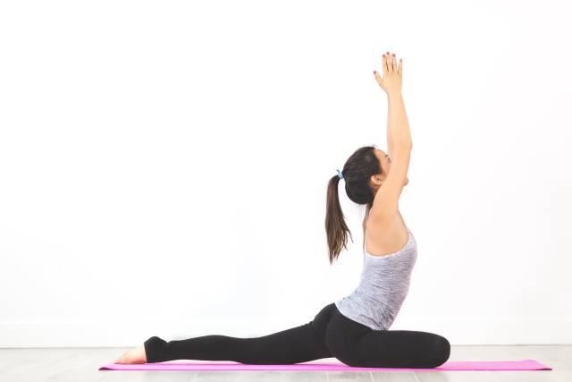 Yoga - Pigeon Pose