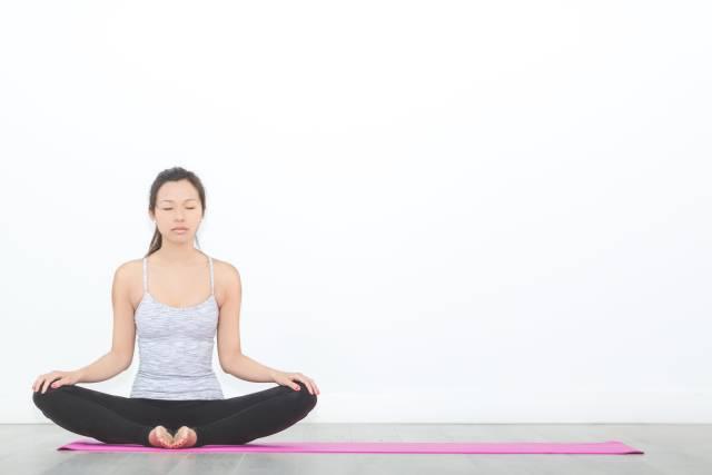 Yoga - sitzende Meditation