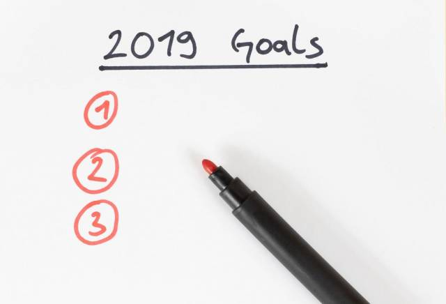 New Year goals 2019