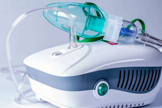 Nebulizer for home treatment of colds