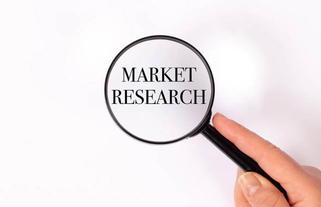 Market research under magnifying glass