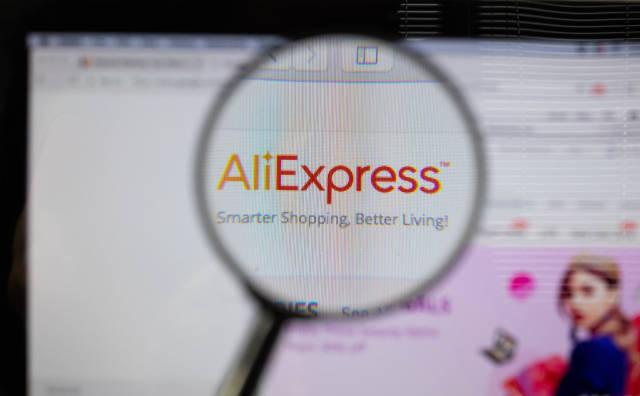 Online shopping at AliExpress