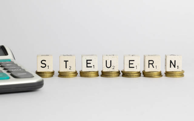 German word for tax - Steuern