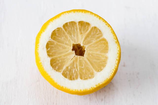 Juicy yellow slice
