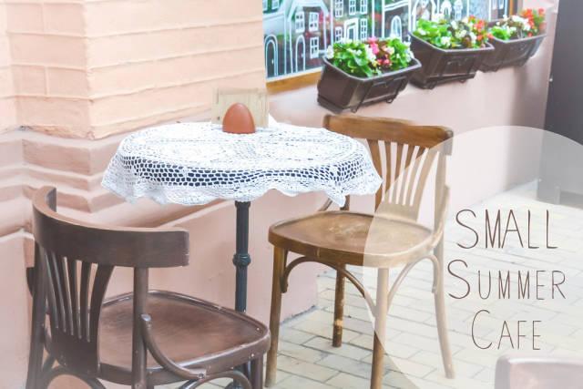 Kleines Sommercafé