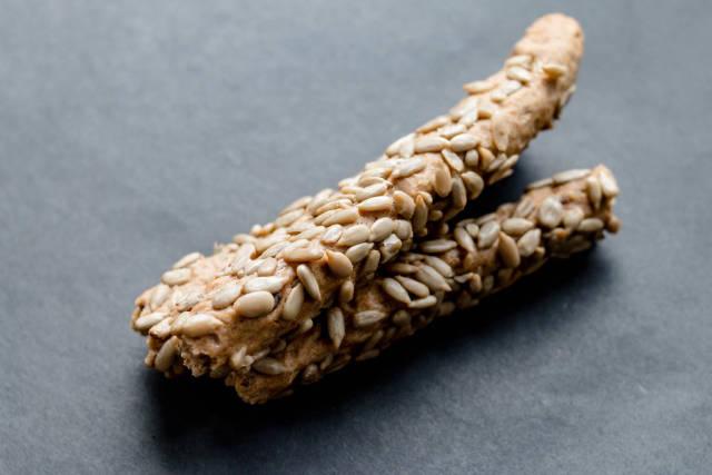 Crispy Sticks With Seeds, close up