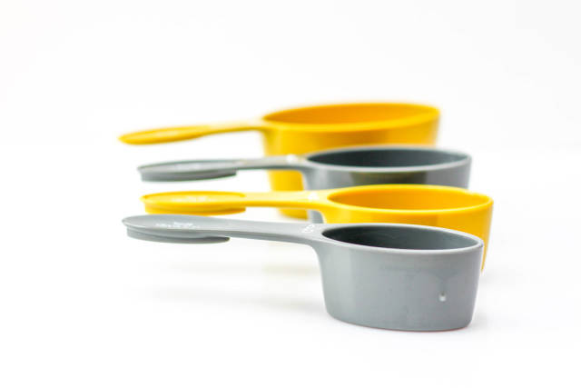 Measuring Cup on a White Background