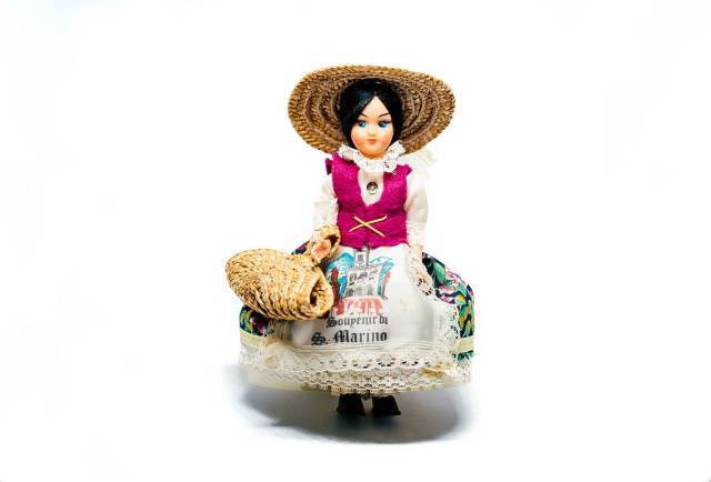 Souvenir Retro doll Di S. Marino