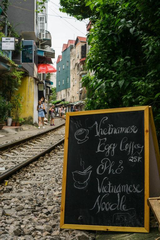 Hanoi Railway Cafe