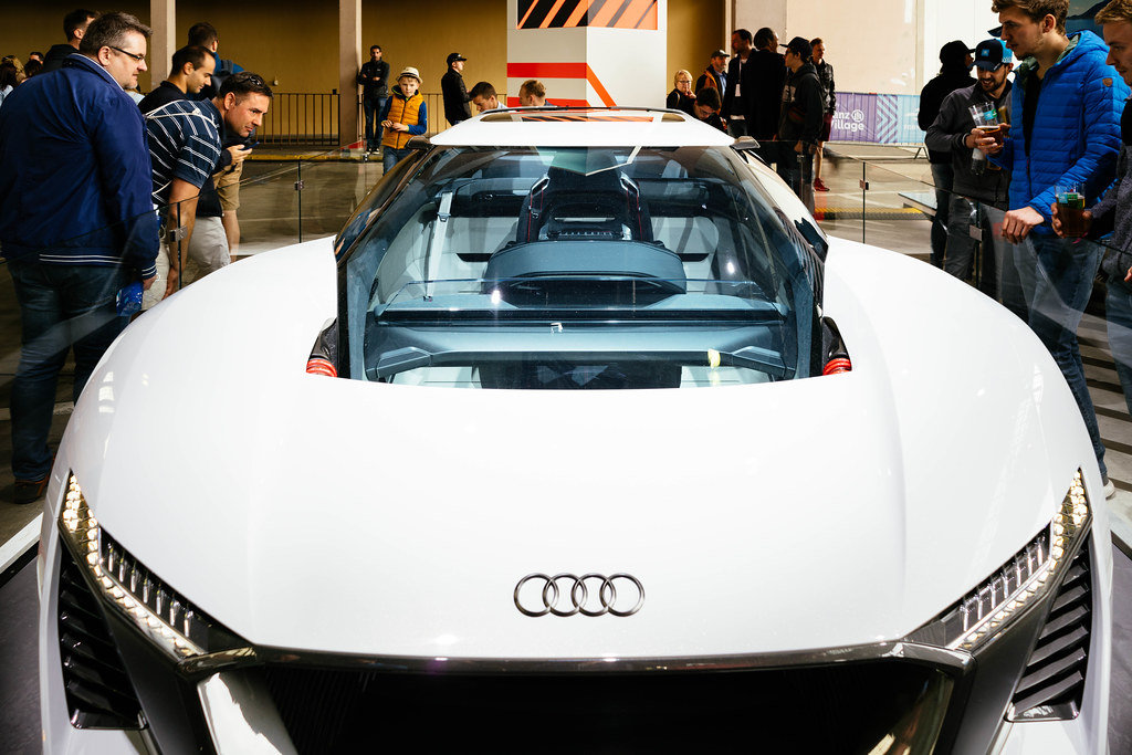 Audi PB18 E-TRON electric CONCEPT car
