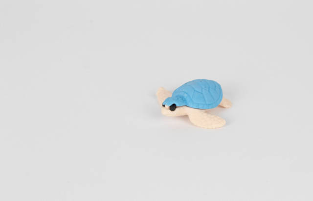 Badespielzeug in Gestalt einer Schildkröte