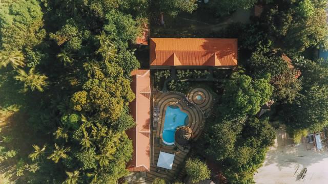 Nataasan Resort Shot from Above