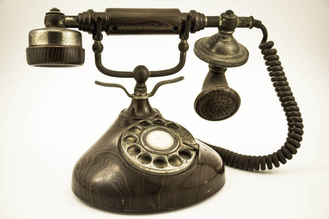 An Antique Telephone