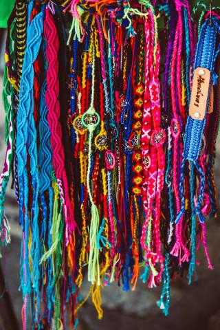 Typical Bracelets from Honduras