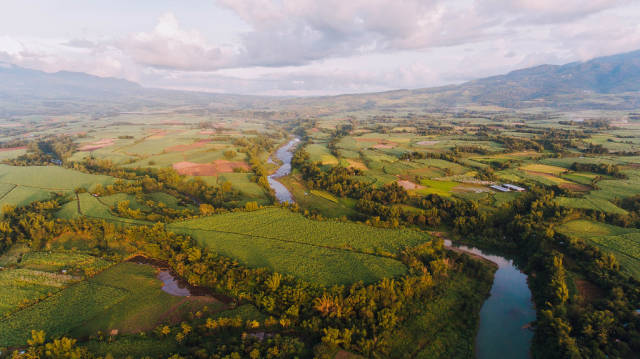 Merged Twin Rivers in Murcia, Negros Occidental