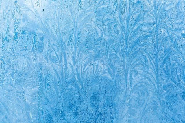 Frostiger Winter-Hintergrund