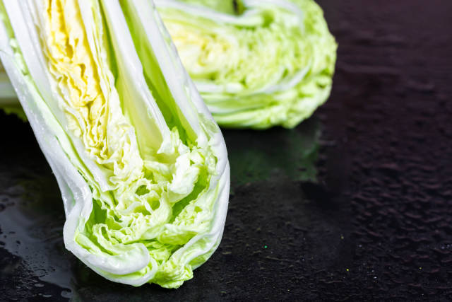 Chinese Cabbage leaves
