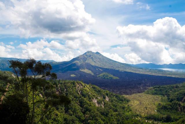 Volcano / Vulkan auf Bali