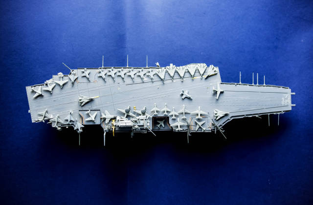 Small battleship model
