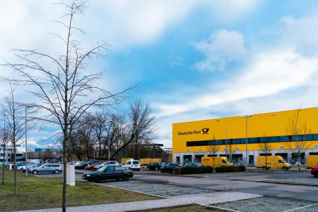 Deutsche Post logistic center in Berlin Charlottenburg