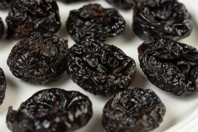 Dried Plums closeup image