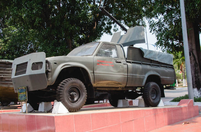 Old American Army truck