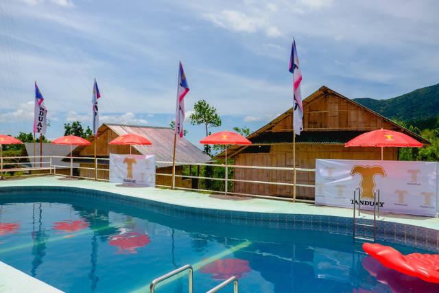 A small swimming pool in Kampo Hiyang