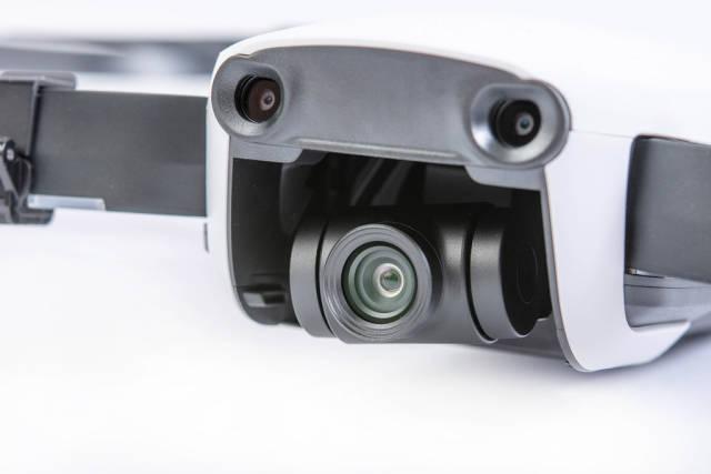 DJI Mavic Air drone camera gimbal closeup