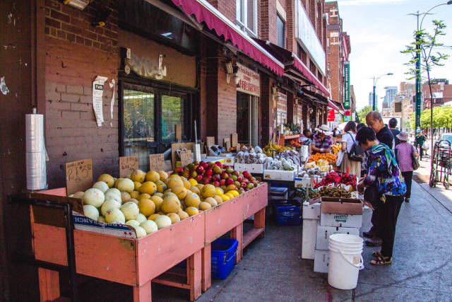 Fruits and Vegetables city market