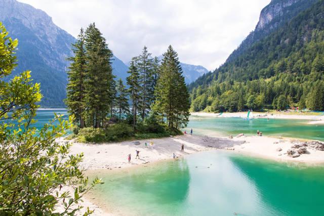 The lake of Predil