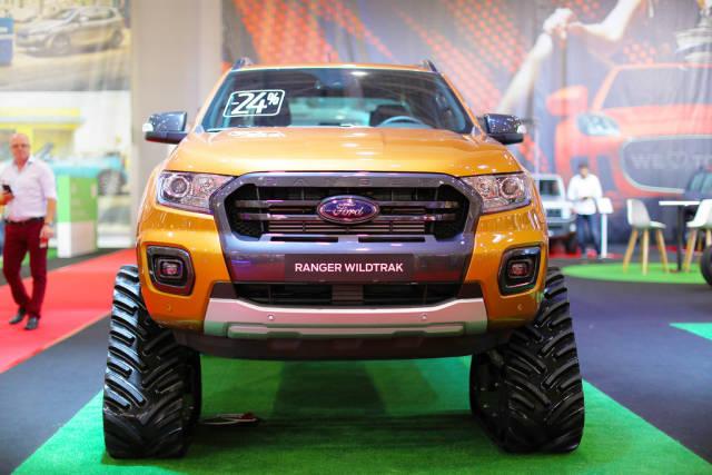 Ford Ranger Wildtrak, ACF tracks at Bucharest Auto Show SAB 2019