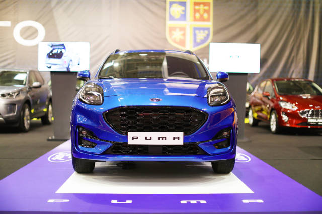 Ford Puma at Bucharest Auto Show 2019