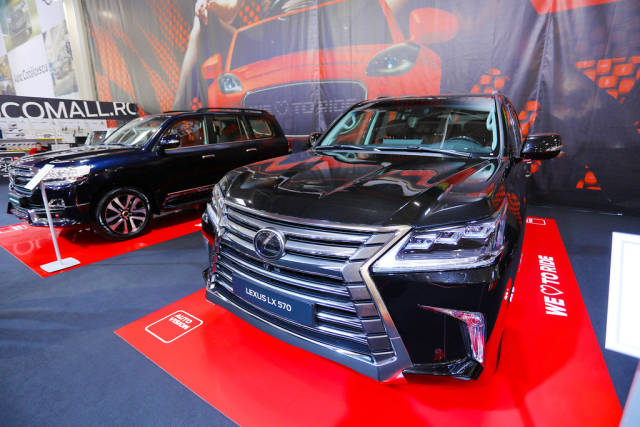 Lexus LX570 at Bucharest Auto Show 2019 SAB