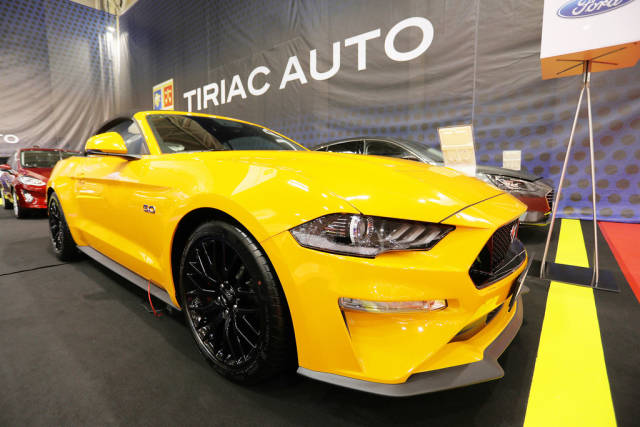 Ford Mustang GT 5.0 at Bucharest Auto Show 2019 SAB