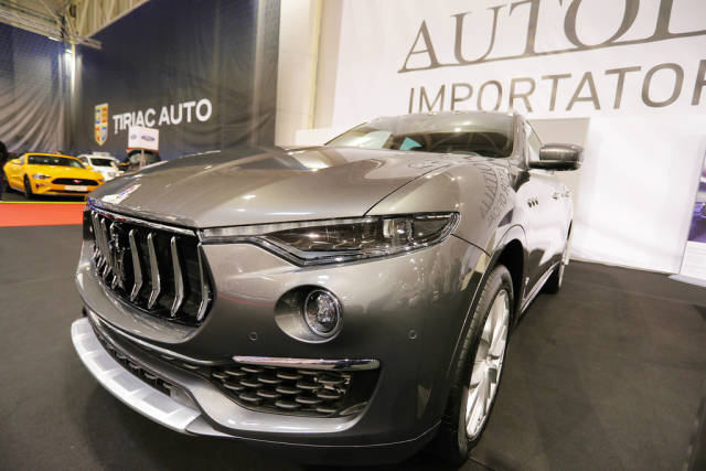 Maserati Levante at Bucharest Auto Show 2019 SAB