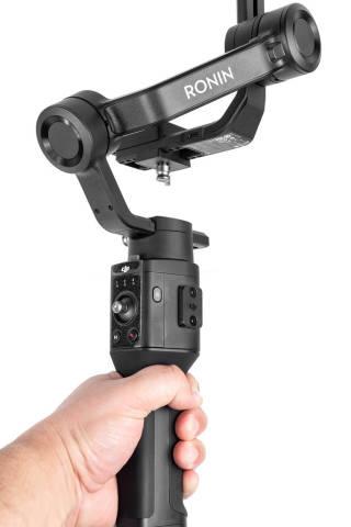 DJI Ronin SC gimbal for mirrorless camera