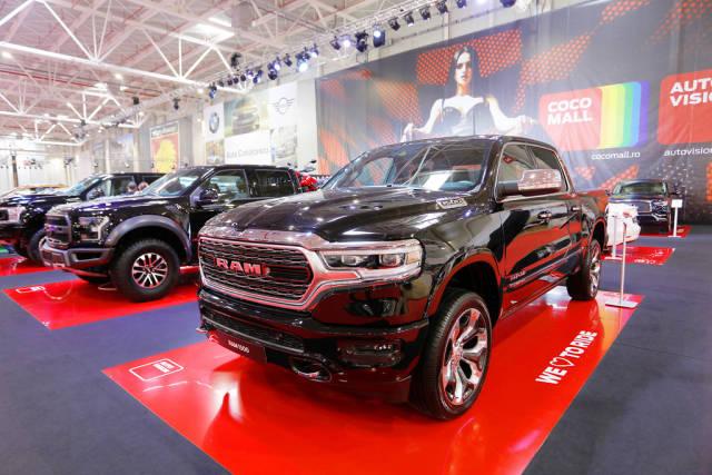 RAM 1500 truck at Bucharest Auto Show SAB 2019