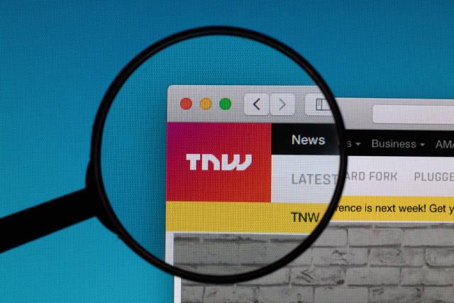 TNW logo under magnifying glass