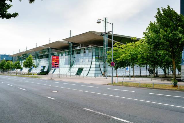 Modern office building at Hannover Expo Geläde