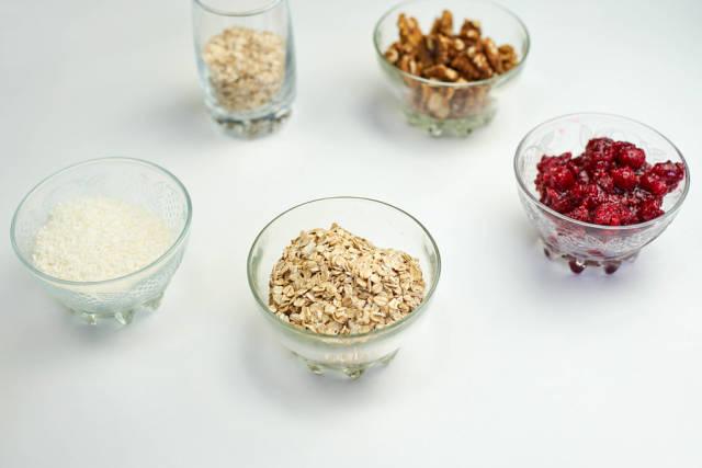 Ingredients ready for preparing healthy breakfast